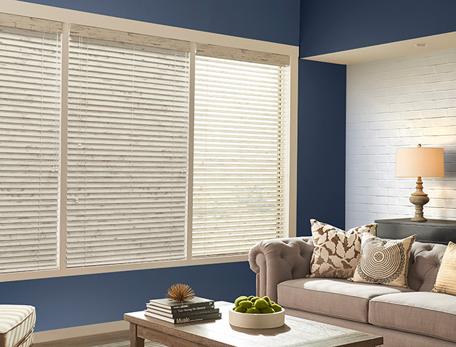 Horizontal Wood Premier Blinds